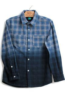 83c77297d Camisa Para Meninos Azul Marinho Bicolor infantil