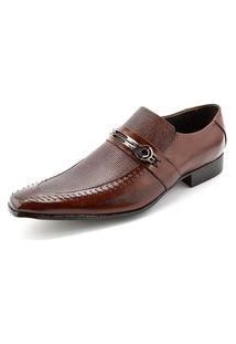 Sapato Confort Ettore, Parma - Couro Tabaco.