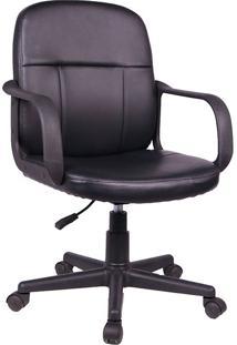 Cadeira Para Escritório Napoles-Rivatti - Preto