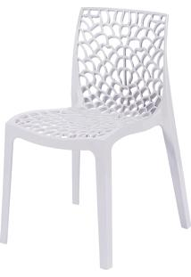 Cadeira Gruvyer S6316 – Or Design. - Branco