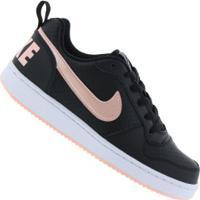 e98dafdd1f Centauro. Tênis Nike Court Borough Low Feminino - Infantil ...