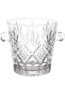 Balde Para Gelo Dublin- Cristal- 22,5X17X16,7Cm-Lyor