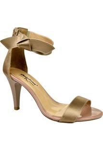 a26615e2b Sandália Com Pe Tom Claro feminina   Shoes4you