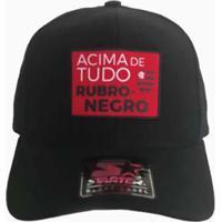 70f40ffc01ed7 Boné Flamengo Acima De Tudo Rubro Negro Starter - Unissex