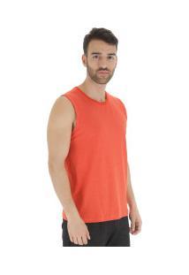 Camiseta Regata Oxer Sound New - Masculina - Laranja