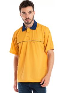 4d03f19416 Camisa Konciny Polo Manga Curta Amarelo