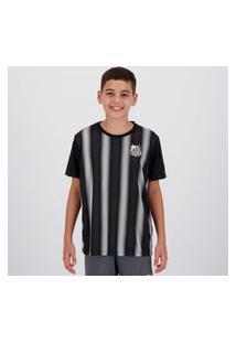 Camisa Santos Change Infantil Preta