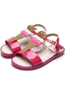 Sandália Molekinha Menina Confort Pink