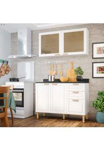 Cozinha Compacta Nevada Ii 4 Pt 3 Gv Branca