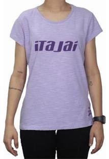 Camiseta Babylook Travel Itajai Mormaii Feminina - Feminino-Lilás