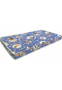 Colchao Baby Physical D18 Infantil 60 Cm (Larg) Azul - 42944 - Sun House