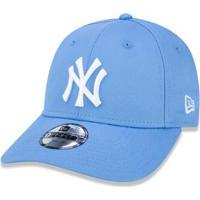Boné 940 New York Yankees Mlb Aba Curva New Era - Unissex-Azul Claro 1d591b33119
