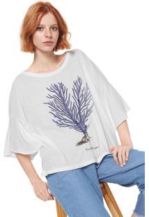 Camiseta Sacada Silk Branca