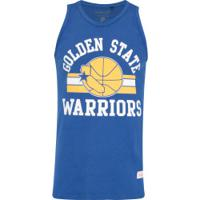 7403170685 Camiseta Regata Mitchell   Ness Golden State Warriors Arch 2 - Masculina -  Azul