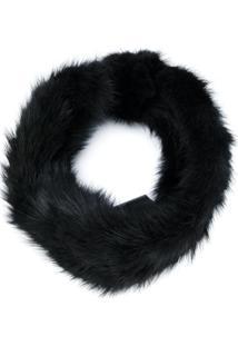 Yves Salomon Headband Hat - Preto