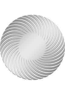 Espelho Decorativo Acrilize Espiral Prata