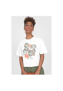 Camiseta Colcci Eco Soul Off-White