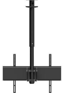 Suporte De Teto Para Tv Avatron Spf-60Ttg-B 40 À 75 Pol Preto