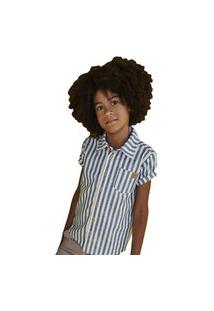 Camisa Infantil Menino Listrada Puramania Malha Algodão