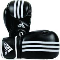 80657f1ce Kanui. Luva De Boxe Adidas Impact - 14 Oz Preta E Branca