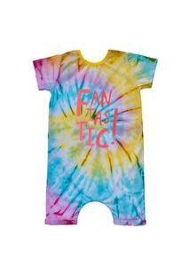 Pijama Curto Comfy Tie Dye Fantastic