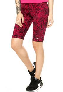 Bermuda Nike Pro 11 Vixen Vermelha