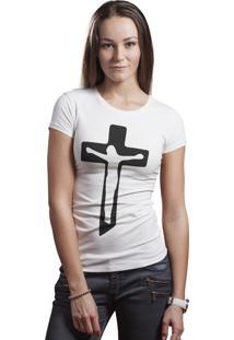 Camiseta Hunter Jesus Cristo Branca