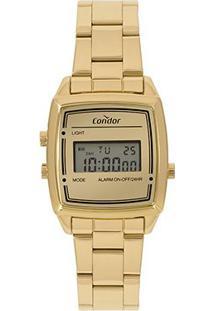 Relógio Condor Digital Cojh512Ac/4D Feminino - Feminino-Dourado