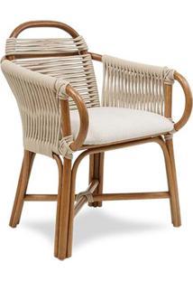 Cadeira Pipa Trama Corda Náutica Areia Estrutura Apuí Eco Friendly Design Scaburi