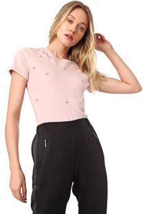 Camiseta Calvin Klein We Love Rosa