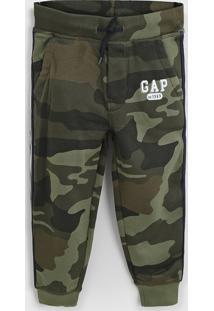 Calça Gap Infantil Militar Verde