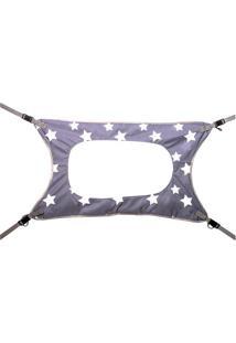 Cama Primeiro Sono Estrelas - Cinza & Branca- 27X50Xmarcus & Marcus