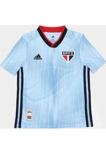 Camisa São Paulo Infantil Iii 19/20 S/Nº Torcedor Adidas