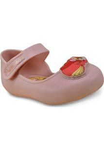 8f81cb05a0 Sapatilha Fem Infantil Grendene 21669 Disney Princesas Rosa Cameo