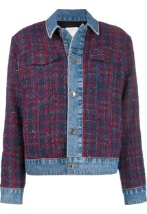 Sandro Paris Chelsy Tweed Jacket - Azul
