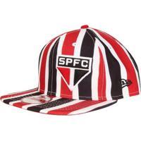 Boné New Era São Paulo Aba Reta 950 Of St Stripes Masculino 8cfe9dbc6e40b
