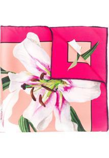 Dolce & Gabbana Echarpe Estampada - Rosa