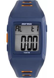Relógio Mormaii Digital Action Mo967Ab8A Azul/Laranja - Unissex-Azul+Laranja