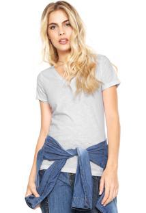 Camiseta Hering Slim Branca - Branco - Feminino - Algodã£O - Dafiti