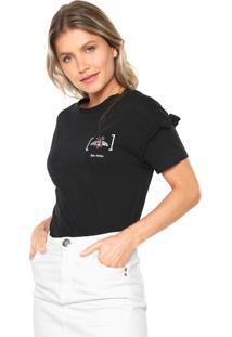 Camiseta Lez A Lez Forty Preta