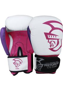 b5554cfcf Luva Boxe Pretorian Elite Training 12 Oz - Feminino
