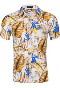 Camisa Floral Masculina - Floral P