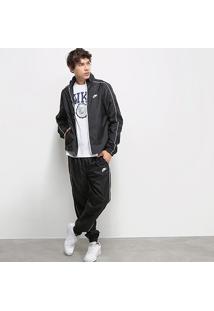 Agasalho Nike Nsw Suit Basic Masculino - Masculino-Preto+Branco