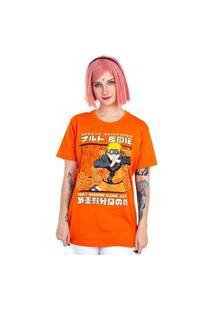 Camiseta Naruto Kage Bunshin Laranja