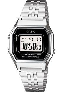 Relógio Digital Casio Unissex - La680Wa1Df 9620828 Prateado