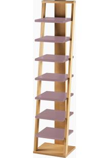 Prateleira Stairway Lilás Laca M55