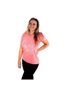 Camiseta Birdz Estampada Rosa Pink