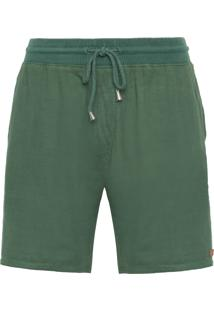 Bermuda Masculina Soft Color - Verde