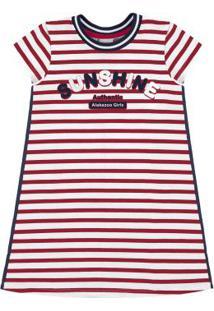 Vestido Malha Cotton Thirty Vermelho