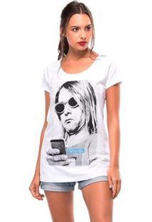 Camiseta Kurt Useliverpool Feminina - Feminino-Branco